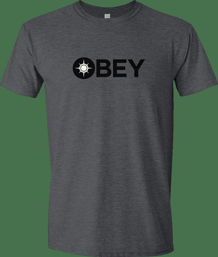 60250bd9 Guild Word Orzhov OBEY unisex t-shirt - MTG Pro Shop
