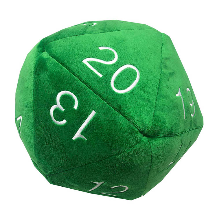 UP Plush D20 Green
