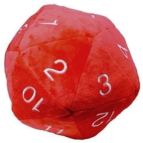 UP Plush D20 Red